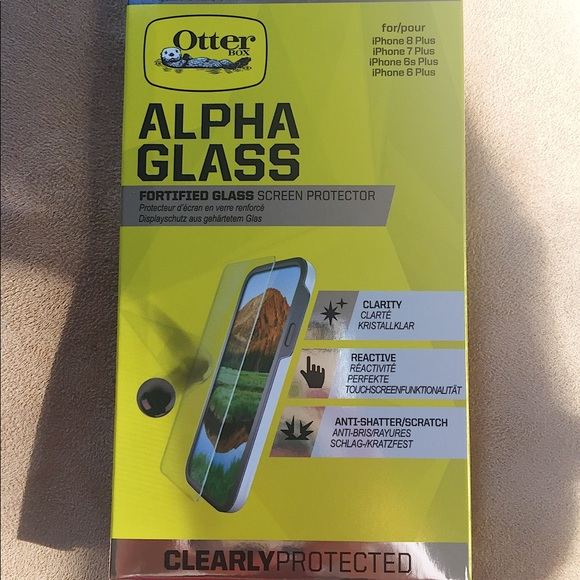size 40 d0b92 c2eb4 OTTERBOX | Alpha Glass iPhone Screen Protector NWT